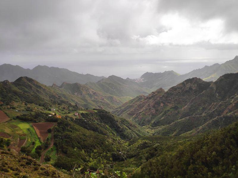 Az Anaga egy vadregényes hegyvidék