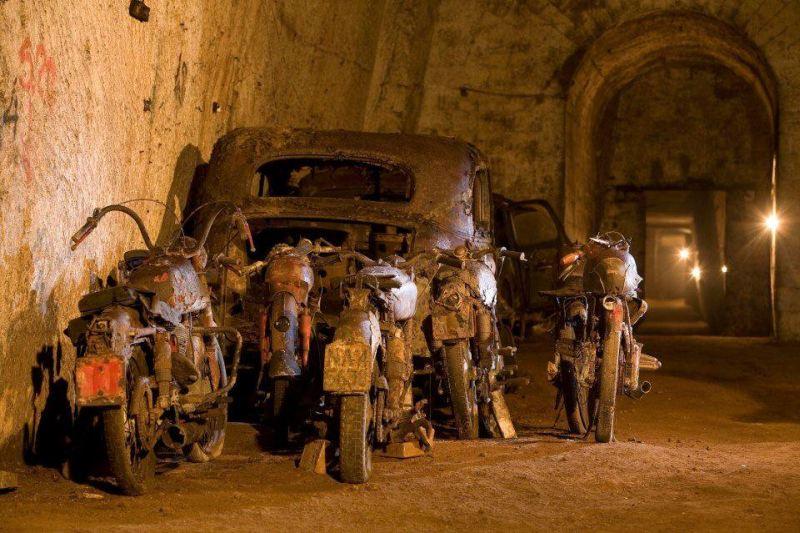 Sok roncs is található az alagútban