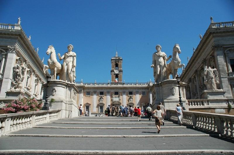 A Capitolium, a hét domb egyike