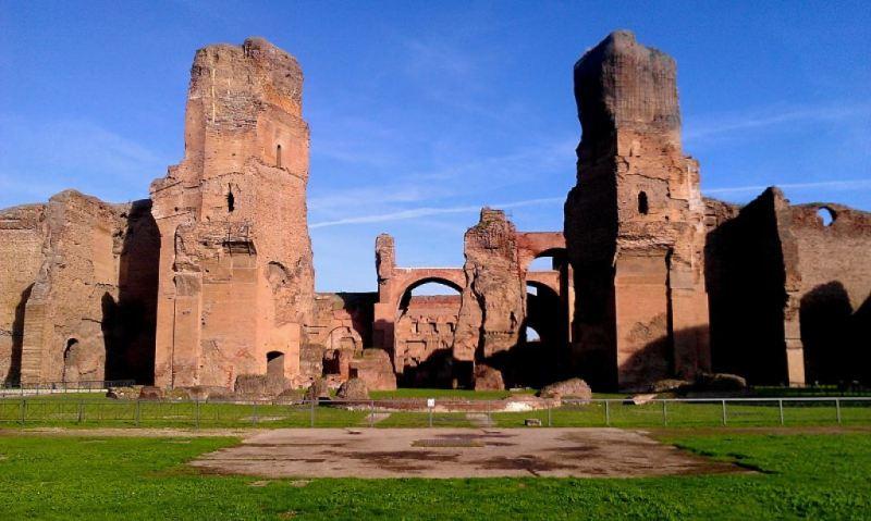 A fürdőt Caracalla császár építtette