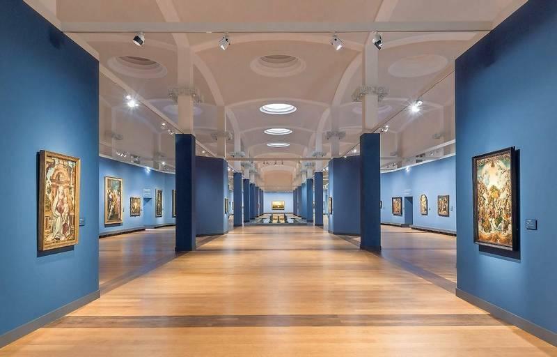 Híres európai festők alkotásai láthatók