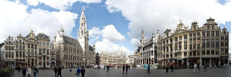 A Fő tér, Grote Markt látképe