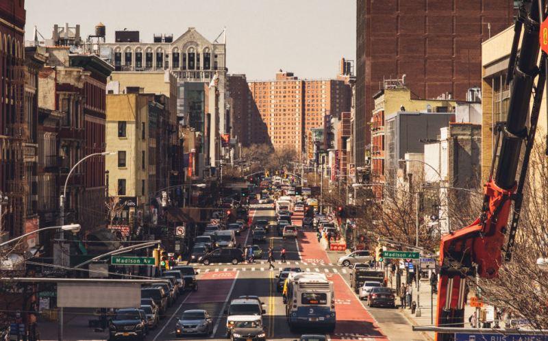 Harlem egyik utcája