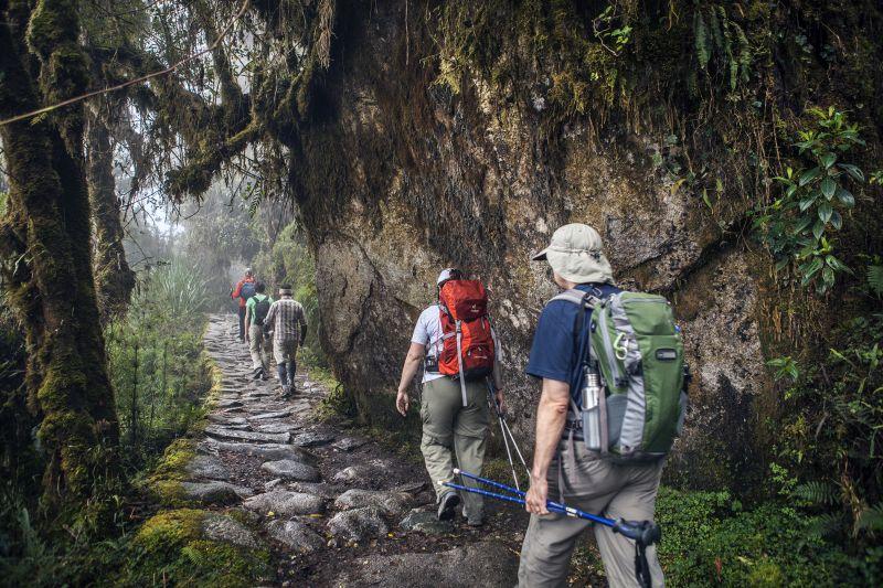 Az Inka Ösvény a legnépszerűbb túraútvonal