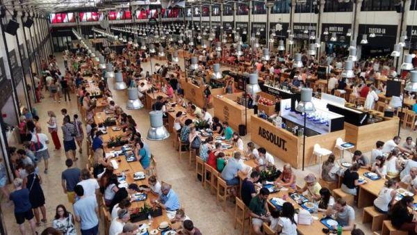 A Mercado da Ribeira piacán kulináris élvezeteket kaphatunk