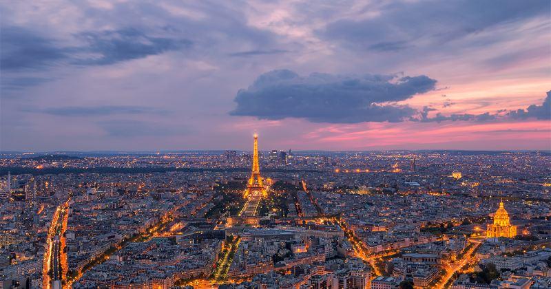 Akár ilyen látványban is lehet részünk a Montparnasse-toronyból