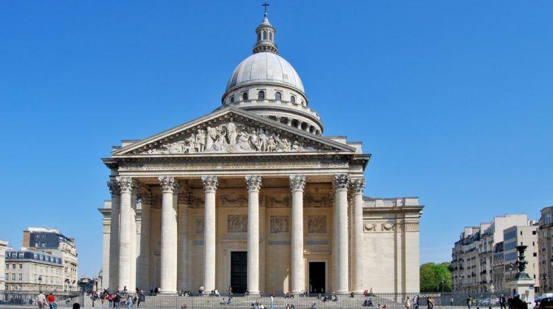 A híres franciák temetkezési helye, a Panthéon