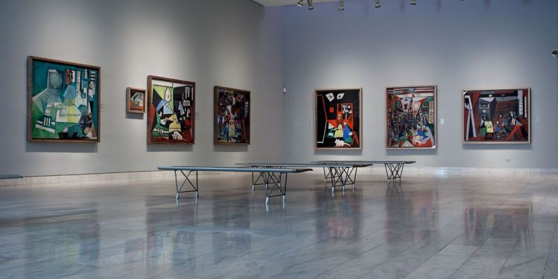 "Picasso ""elvont"" műveit láthatjuk"