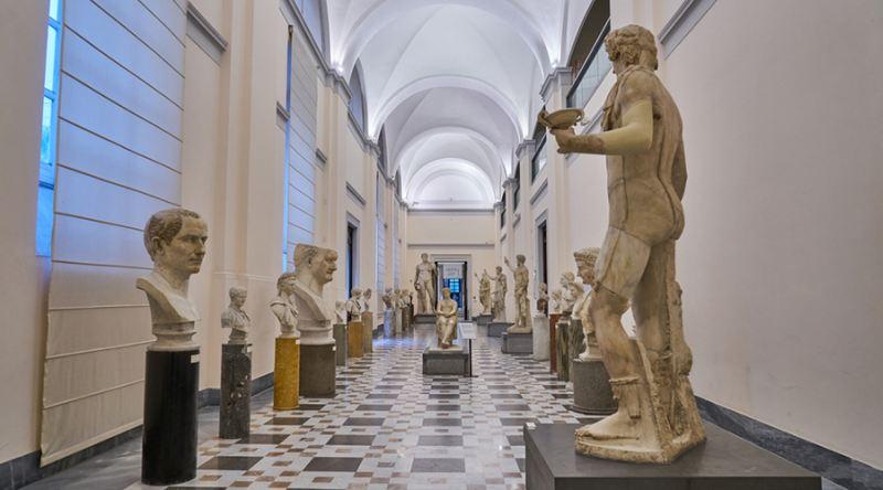 A múzeum egyik terme