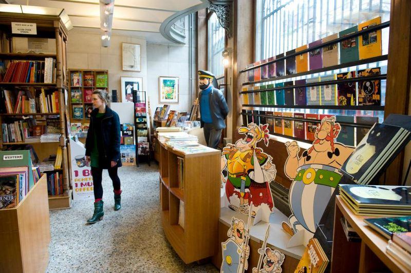 A legtöbb képregény-művész Belgiumban van