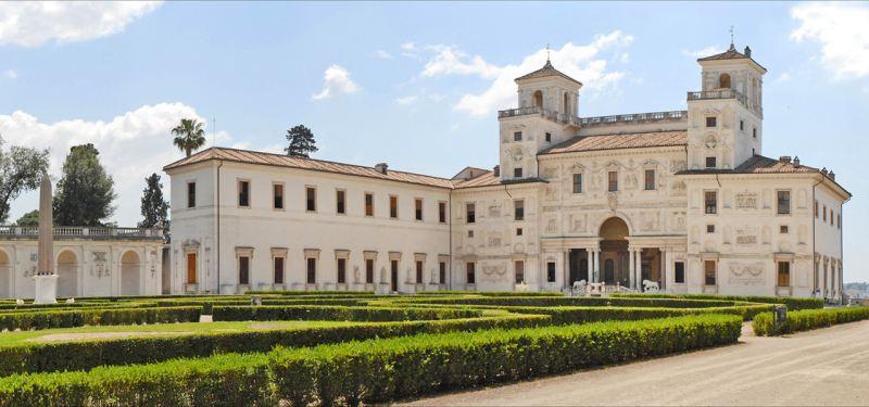 A Villa Medici gyönyörű épület