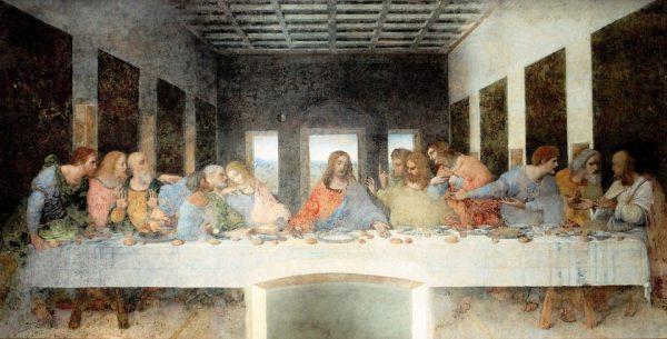 Leonardo da Vinci leghíresebb alkotása, Az utolsó vacsora itt látható