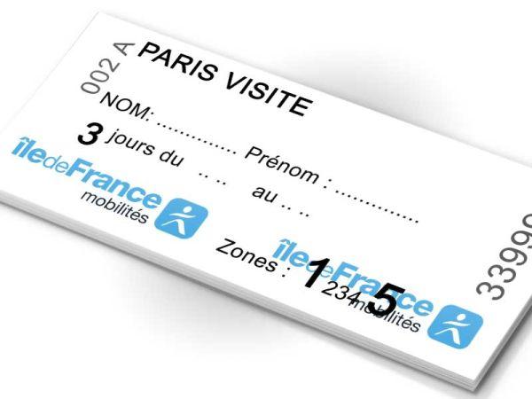 Ilyen a Paris Visite turistabérlet