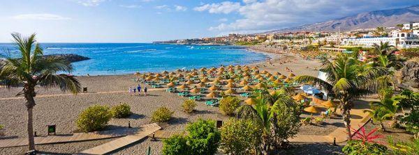 Playa de las Americas környéke Tenerife turistaparadicsoma