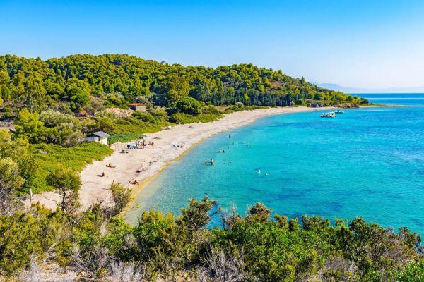 Egy külön szigeten találjuk ezt a csodás tengerpartot