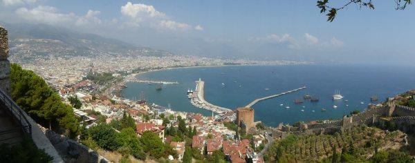 Antalya fentről csodás
