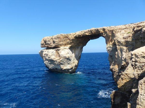 Az Azúr szikla sajnos már nem látható