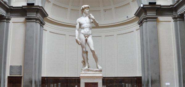 Leghíresebb alkotása a Dávid-szobor, amely kötelező a Firenze látnivalók között