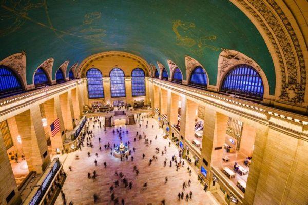 A Grand Central Terminal a világ leghíresebb vasútállomása