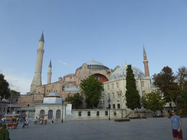 Isztambul leghíresebb épülete, a Hagia Sophia