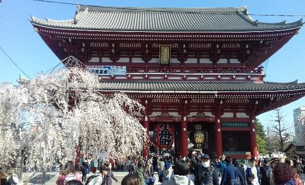 Asakusa Shrine és a Sensoji templom