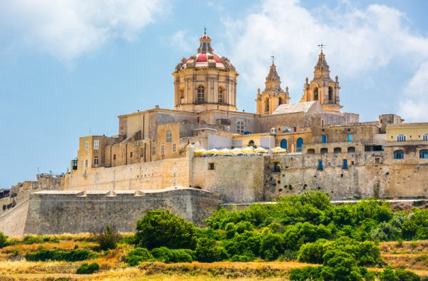 Mdina Málta látnivalók közül az egyik legnépszerűbb