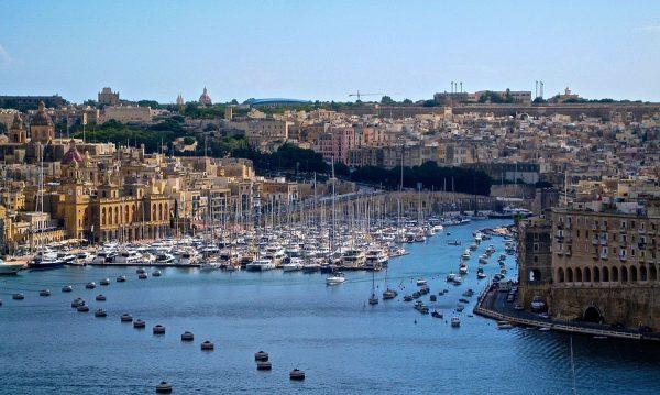 Valletta belvárosa az UNESCO Világörökség része