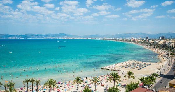 Playa de Palma nem hiába népszerű üdülőhely