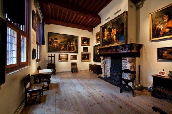 Rembrandt egykori házában van a múzeum
