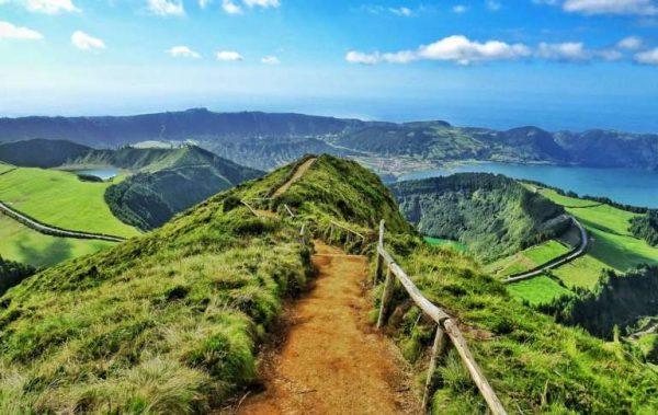 Ennek a túraútnak a végén van az Azori-szigetek látnivalók legszebbje