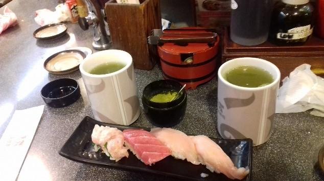 A sushi-t kötelező megkóstolni