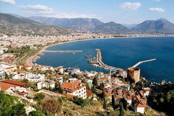 A Török Riviéra keleti részének központja, Antalya