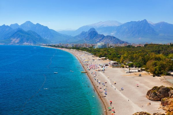 Antalya a Török Riviéra egyik gyöngyszeme