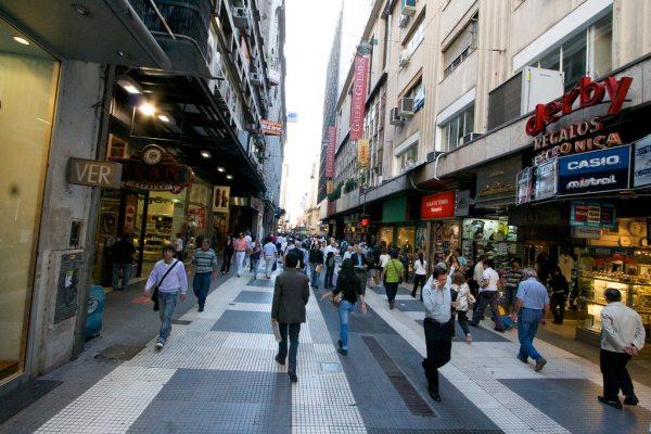 A főváros bevásárlóutcája
