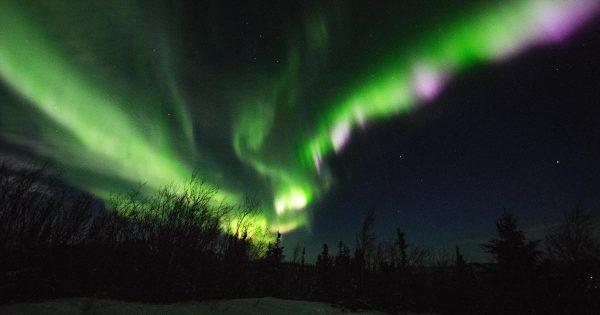 Az északi fény csodás alakzatokat képes felvenni