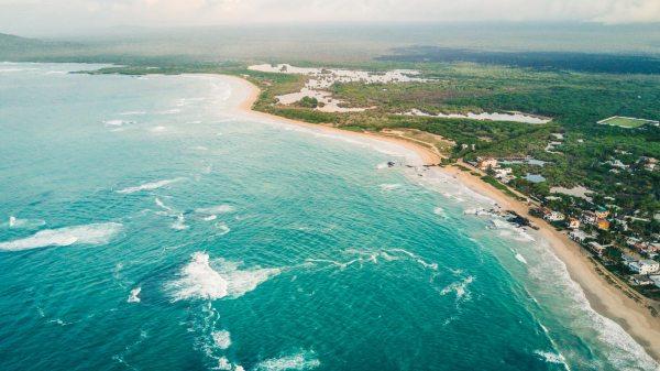 Isabela szigetének egyik tengerpartja