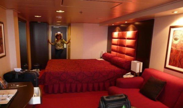 Ilyen egy szoba a hajón