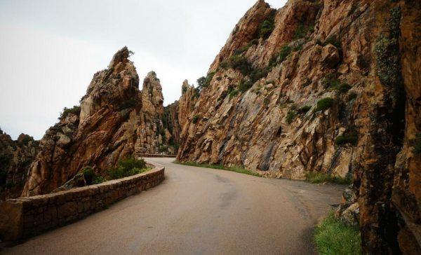 Les Calanques sziklái