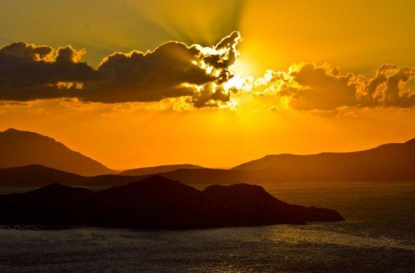 Egy szép naplemente