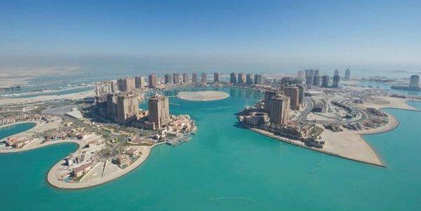 Doha mesterséges szigetén minden csillogás megtalálható