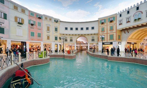A Villaggio Mall-ban Velence elevenedik meg