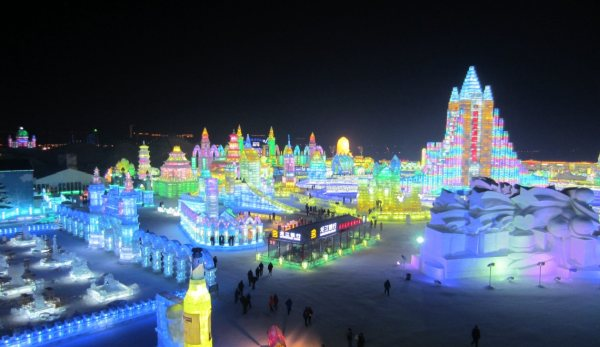 Ice and Snow Sculpture Festival