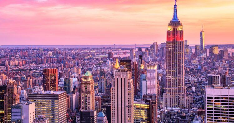 Manhattan ikonikus felhőkarcolói