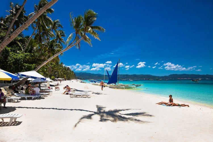 Boracay szigete nagyon népszerű
