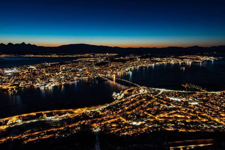 Tromsö csodás kivilágítva