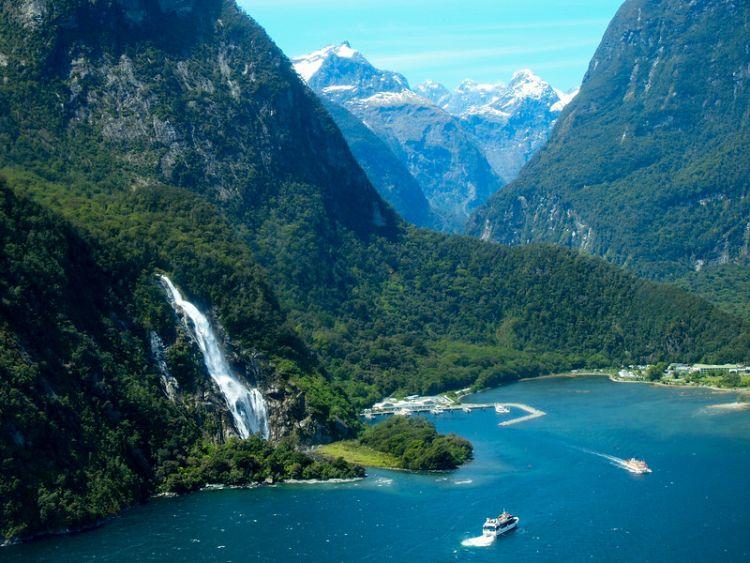 Új-Zéland csodás természeti látnivalókkal rendelkezik