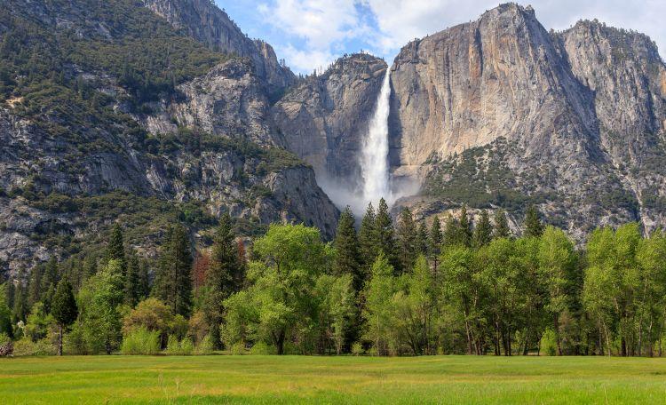 A Yosemite hatalmas nemzeti park