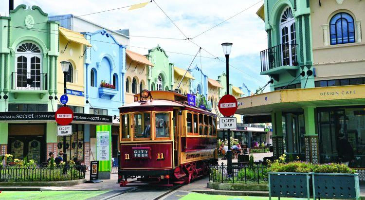 Christchurch egy igazi angolos város