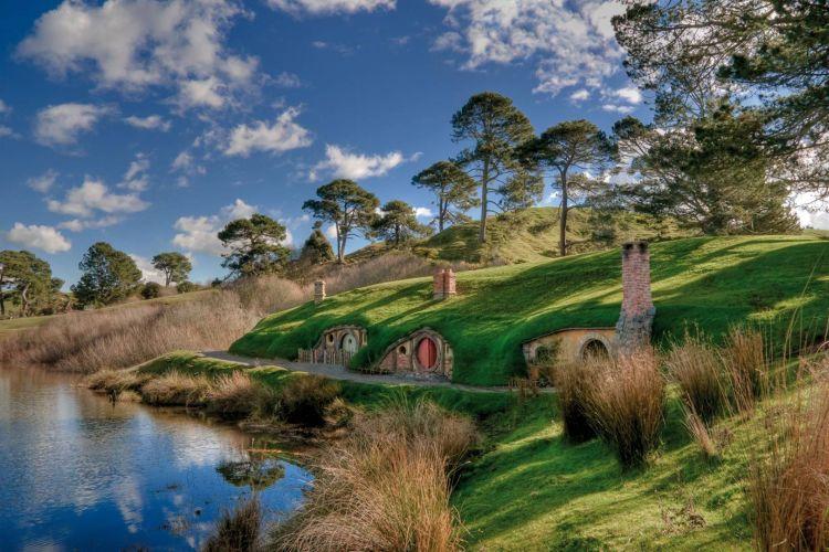 A hobbitok lakhelye bejárható