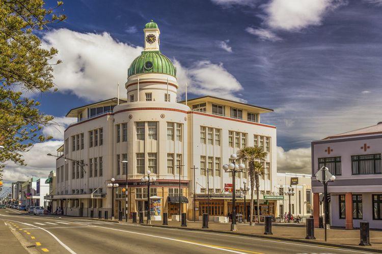 A város híres az art deco építészetről